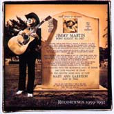 JIMMY MARTIN 'Songs Of A Free Born Man' CMH-8440-CD
