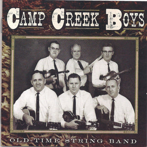 CAMP CREEK BOYS 'Old Time String Band' CO-2719-CD