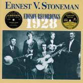 ERNEST STONEMAN 'Edison Recordings, 1928'
