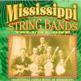 VARIOUS 'Mississippi String Bands, Vol. 1' CO-3513-CD