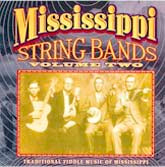 VARIOUS 'Mississippi String Bands, Vol. 2' CO-3514-CD