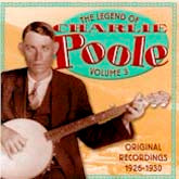 CHARLIE POOLE 'The Legend of Charlie Poole, Vol. 3' CO-3516-CD