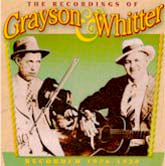 GRAYSON & WHITTER '1928-1930 Recordings' CO-3517-CD