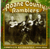ROANE COUNTY RAMBLERS 'Complete Recordings 1928-1929' CO-3530-CD