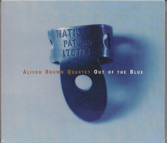 ALISON BROWN QUARTET 'Out of the Blue' COMP-4248-CD