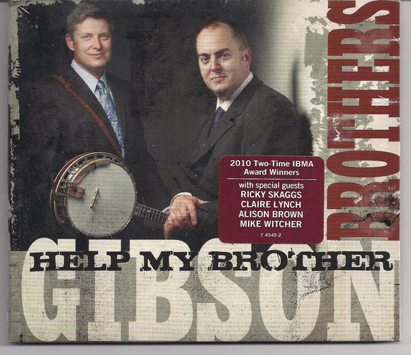 GIBSON BROTHERS 'Help My Brother' COMP-4549