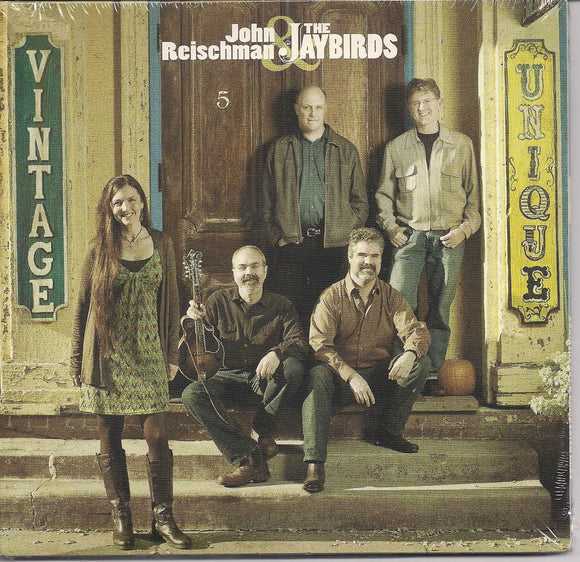 JOHN REISCHMAN & THE JAYBIRDS 'Vintage Unique' CORVUS-018-CD