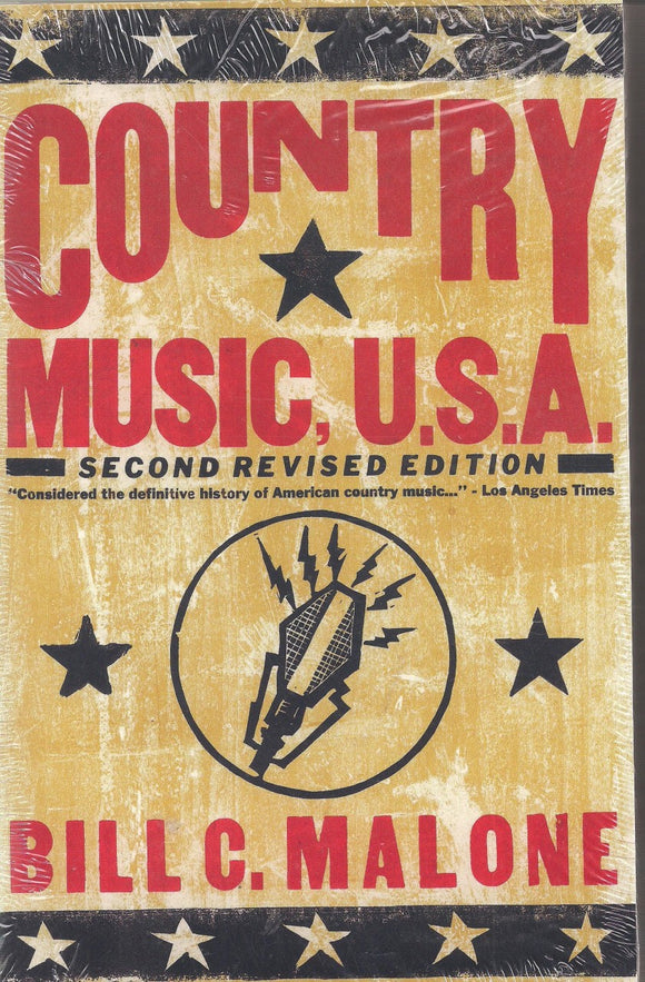 COUNTRY MUSIC USA - Second Revised Edition by Bill C. Malone BOOK: USA2ND