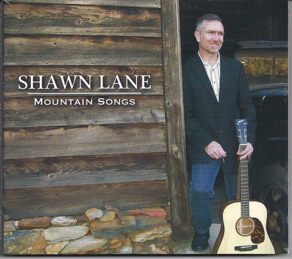 SHAWN LANE 'Mountain Songs' CTR-0044-CD