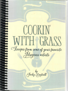 COOKIN' WITH GRASS  BOOK-Cantrell