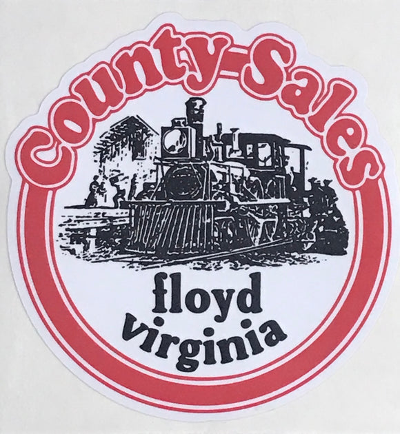 County Sales Stickers