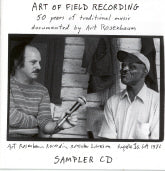VARIOUS ARTISTS 'Art Of Field Recording' DTD-07-CD