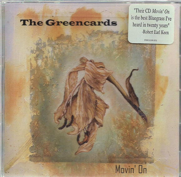 THE GREENCARDS 'Movin' On' DUAL-1196-CD