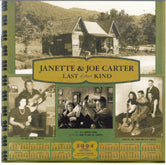 JANETTE & JOE CARTER 'Last Of Their Kind' DUAL-1186-CD
