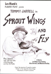 TOMMY JARRELL 'Sprout Wings And Fly' FFP-1111-DVD