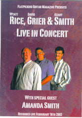 RICE, GRIER & SMITH 'Live' FGM-1008-DVD