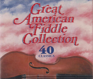VARIOUS 'Great American Fiddle Collection' (2 CD) CD-1784