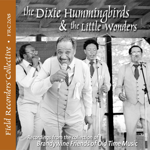 THE DIXIE HUMMINGBIRDS & THE LITTLE WONDERS  FRC-208-CD
