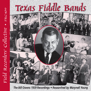 VARIOUS ARTISTS 'Texas Fiddle Bands'   FRC-409-CD