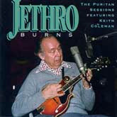 JETHRO BURNS 'The Puritan Sessions Featuring Keith Coleman' FRC-653-CD