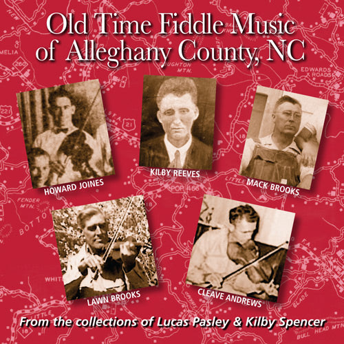 VARIOUS ARTISTS  'Old Time Fiddle Music of Alleghany County, NC'  FRC-712-CD