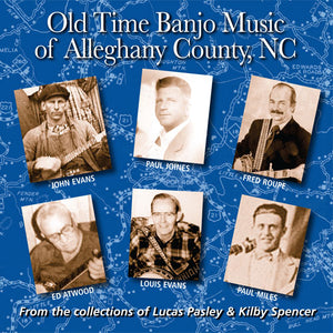 VARIOUS ARTISTS - 'Old Time Banjo Music of Alleghany County, NC'  FRC-719-CD