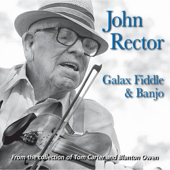 JOHN RECTOR 'Galax Fiddle & Banjo' FRC-737-CD