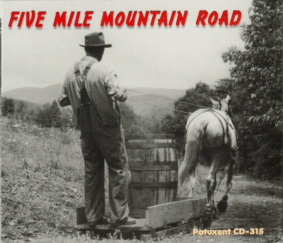 FIVE MILE MOUNTAIN ROAD 'Five Mile Mountain Road' PATUX-315