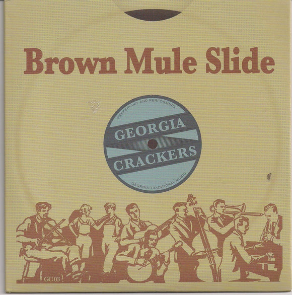GEORGIA CRACKERS 'Brown Mule Slide'