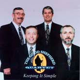 GOOD SHEPHERD QUARTET 'Keeping It Simple' GSQ-3-CD