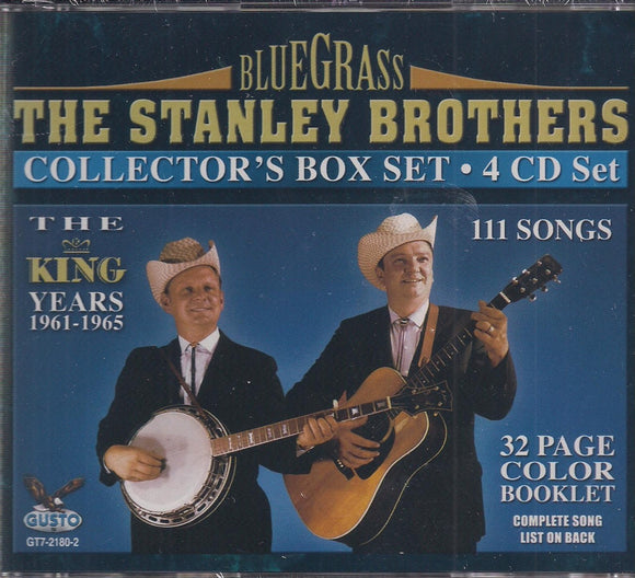 STANLEY BROTHERS 'The King Years 1961-1965' 4CDs