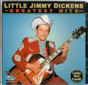 LITTLE JIMMY DICKENS 'Greatest Hits'  GUSTO-2352-CD