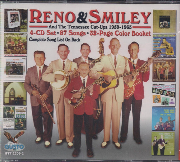 RENO & SMILEY 'Don Reno & Red Smiley And The Tennessee Cut-Ups 1959-1963'