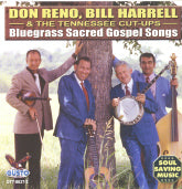 DON RENO, BILL HARRELL & THE TENNESSEE CUT-UPS 'Bluegrass Sacred Gospel Songs'