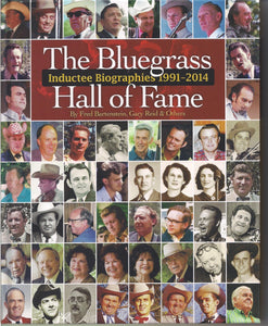 THE BLUEGRASS HALL OF FAME 'Inductee Biographies 1991-2014' BOOK: HF
