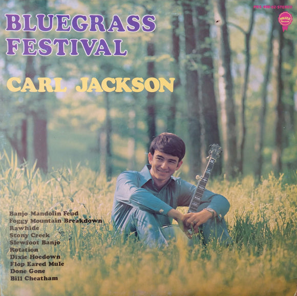CARL JACKSON ' Bluegrass Festival' - LP