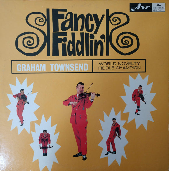 GRAHAM TOWNSEND 'Fancy Fiddlin' - LP