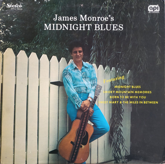 JAMES MONROE 'Midnight Blues' - LP