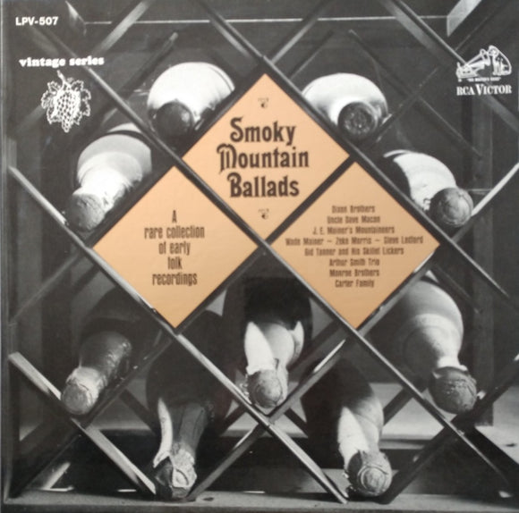 VARIOUS 'Smoky Mountain Ballads' - LP