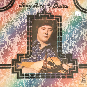 TONY RICE 'Guitar' - LP