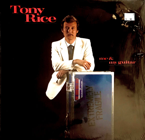 TONY RICE 'Me & My Guitar' - LP