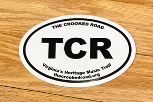 The Crooked Road - Sticker