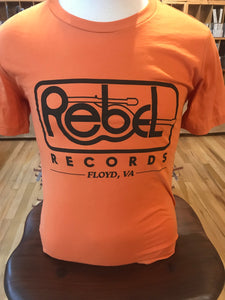 VINTAGE REBEL T-SHIRT (ORANGE)