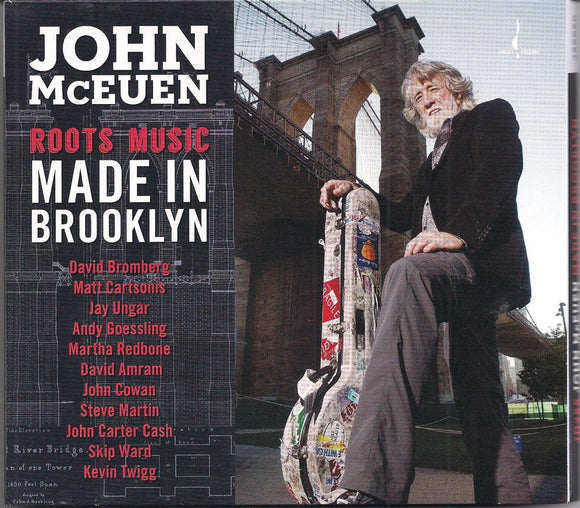 JOHN MCEUEN 'Roots Music Made in Brooklyn'