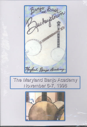 VARIOUS 'Banjo Bash At Buckeystown' JDWS-002-DVD