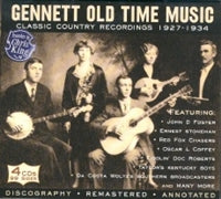"VARIOUS ""Gennett Old Time Music"""