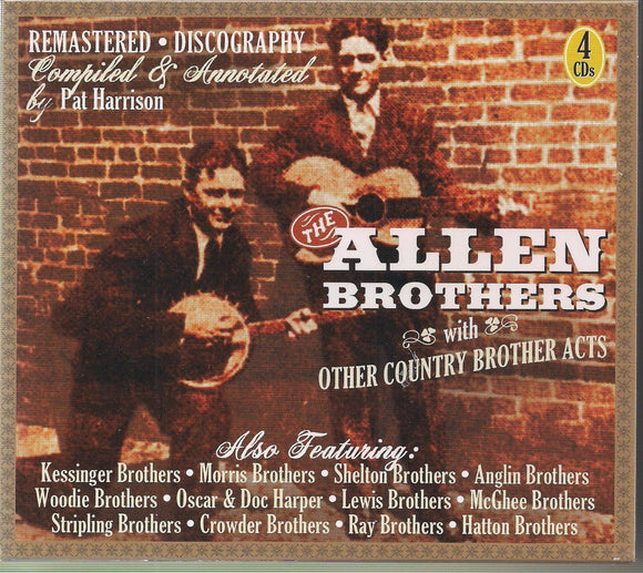 ALLEN BROTHERS with Other Country Brother Acts       JSP-77182-4CD