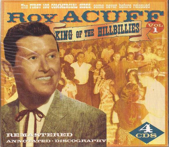 ROY ACUFF 'King of the Hillbillies'  JSP-4499-CD   NOT AVAILABLE