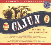 VARIOUS ARTISTS 'Cajun Rare & Authentic' JSP-77115-CD OUT-OF-PRINT