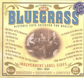 VARIOUS ARTISTS 'Authentic Rare Bluegrass' JSP-77110-CD